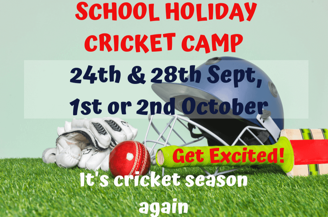 School Holiday Cricket Camps - Term 3